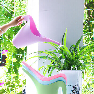 New Garden Pot Watering Jug Can Flower Plant Water Long Spout 1L Bucket 1PC