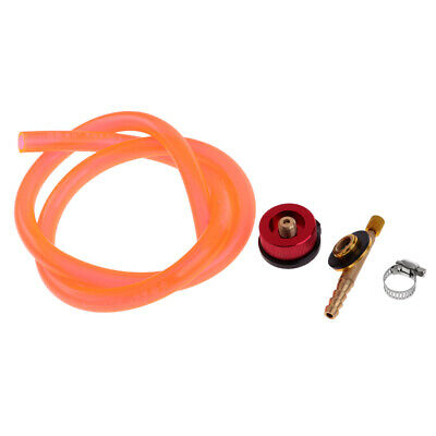 Outdoor Camping Gas Stove Tank Refill Adapter Burner Cylinder Hose Kit