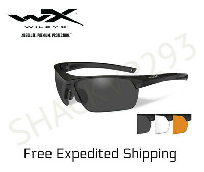 4df1cc329 WILEY X SPEAR Goggles Dual Smoke Grey Clear Light Rust Lenses Matte ...