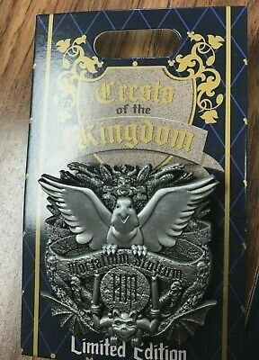 HAUNTED MANSION Disney Crests of the Kingdom 2019 Pin Hinged LE2000