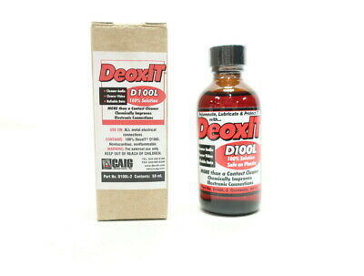 Deoxit D100L-2 Deoxit Electronic Contact Cleaner 59ml
