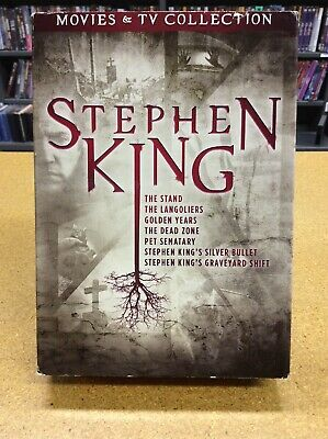 Stephen King: Movies & TV Collection (DVD,9-disc) G-1944-273-016