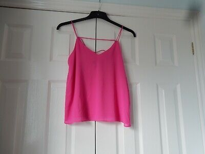 used women's/older girls camilsole top by new look in size 8