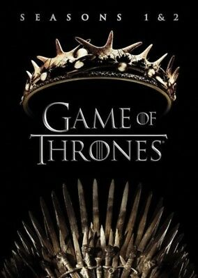 Game Of Thrones: Seasons 1 and 2 (DVD, 2017, 10-Disc Set) NEW