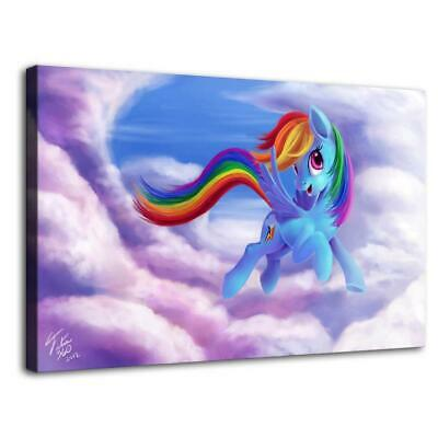 """12""""x20""""My Little Pony HD Canvas print Painting Home decor Picture Room Wall art"""