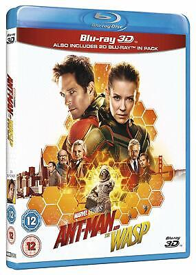 Marvel's Ant-Man and The Wasp [3D + 2D Blu-ray Region Free Rudd Stan Lee] NEW