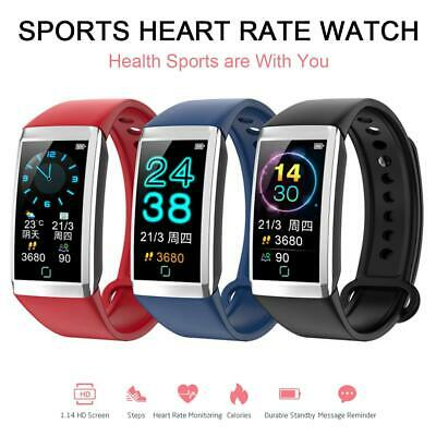 Sports Smart Watch Bracelet Fitness Tracker Heart Rate Monitor Waterproof Band