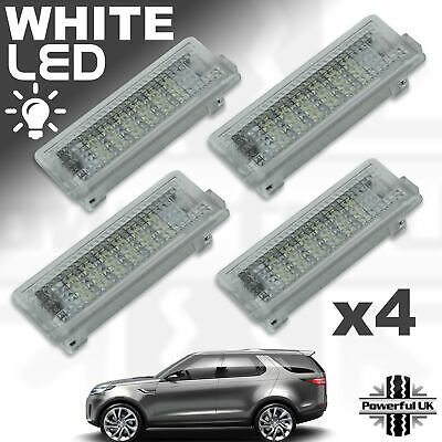 4xLED lamps Door Interior welcome courtesy puddle upgrade for Discovery 5 L462
