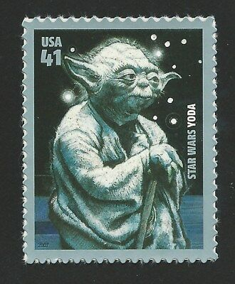 2007 Yoda 30th Anniversary Star Wars Grand Master of the Jedi Order Stamp MINT!