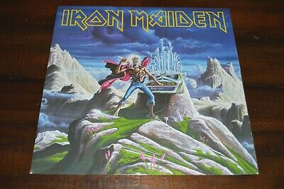 "Iron Maiden - Run To The Hills Live 12"" UK single 45 RPM vinyl record LP NM M-"