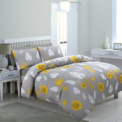 Duvet Cover With Pillow Case Quilt Cover Bedding Set Single Double King Size/