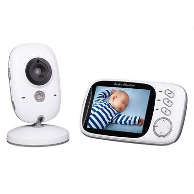 2X(VB603 2.4GHz 3.2 inch LCD Display, Wireless Video Baby Monitor, With NigH7F6)