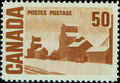 """CANADA #465A 1967 50c """" SUMMER STORES """" STAMP ISSUE MINT-OG/NH-VF"""