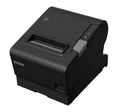 Epson TM-T88VI-241 Thermal Receipt Printer Built-in Ethernet, USB, Serial, With