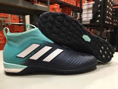 8e75700ce9d ADIDAS MEN S ACE Tango 17+ PureControl TF Shoes (Aqua Black) Size ...