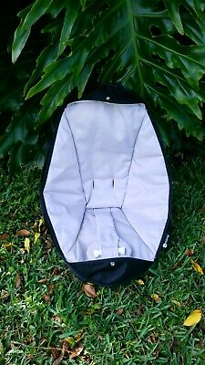 4MOMS ROCKAROO Baby CLASSIC GREY Infant Swing Seat Fabric Cover Replacement