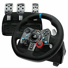 Logitech G29 Driving Force Racing Wheel for PlayStation4 and PlayStation