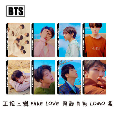 30PC/1set KPOP BTS Bangtan Boys Personal Collective Photocard Poster Lomo Cards