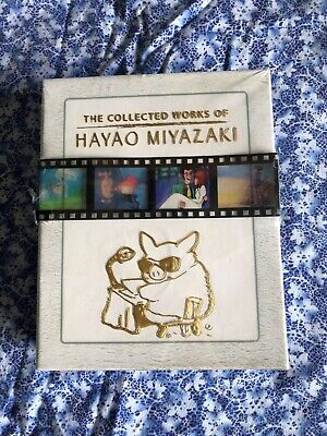 The Collected Works of Hayao Miyazaki Box Set Blu-ray Complete Sealed and New