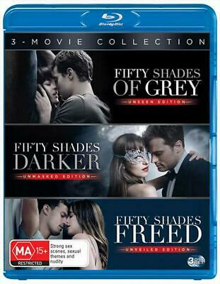 Fifty Shades Of Grey / Fifty Shades Darker / Fifty Shades Freed : Triple Franchi
