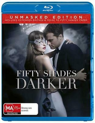 Fifty Shades Darker - Blu Ray Region B Free Shipping!