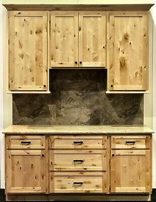 Woodland Rustic Shaker Kitchen Cabinets-Sample door-RTA-All wood, in stock