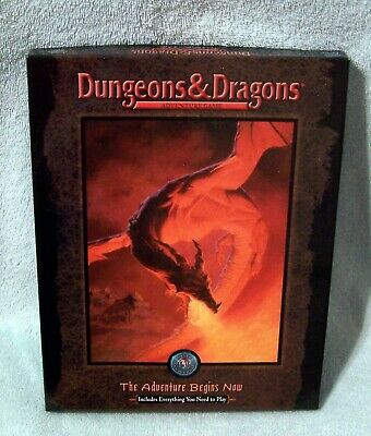 Dungeons & Dragons Adventure Game - The Adventure Begins Now Box Set Tsr 11450