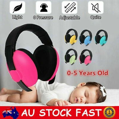 Adjustable Hearing Protection Baby Headphone Noise Canceling Earmuffs 0-5Y Kids