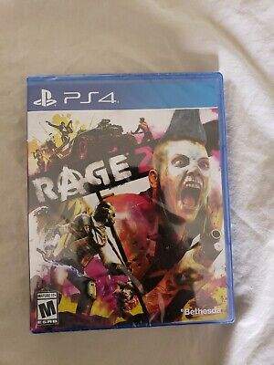Bethesda RAGE 2 for Playstation 4 BRAND NEW SEALED PS4