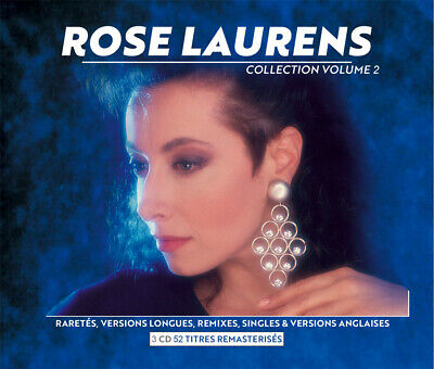 Rose Laurens - Collection Vol.2 - Rarities And Extended - Box 3 Cd Neuf Cello