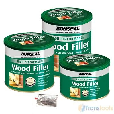 Two-Part Wood Repair Filler and Hardener Natural High Performance Pack Catalyst