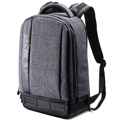 K&F Concept DSLR SLR Camera Photo Backpack Bag Case for Canon Nikon Waterproof