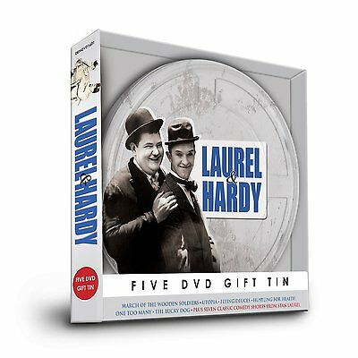 LAUREL & HARDY (Stanlio e Ollio) Film Collection BOX 5 DVD Inglese NEW .cp