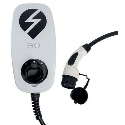 EO EG002-T2-DCL eoGENIUS 7.2kW/32A 1PH Smart Type 2 5m Tethered White DCL