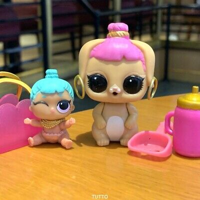 LOL Surprise Lil Sisters Genie Doll + Bunny Wishes Set Series 2 3 Pets Gift