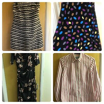 Ladies Womens Clothes Bundle Joblot Size 10-12 Laura Ashley SuperDry M&S