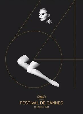 FAYE DUNAWAY AFFICHE FESTIVAL FILM CANNES 2011 POSTER 60x 80CM NEUF NEW