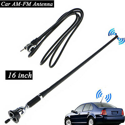 "Universal 16"" Car Auto Roof Fender Radio AM/FM Amplified Signal Aerial Antenna"