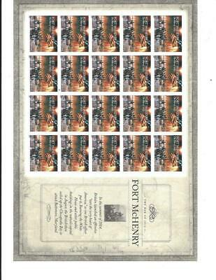 Us Scott 4921 Fort Mchenry Pane Of 20 Stamps Forever Mnh
