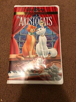 Disney-The Aristocats (Gold Collection Edition ) VHS (White Clam Shell)
