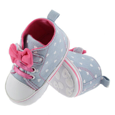 Toddler Baby Shoes Newborn Infants Girls Soft Soled Cotton Crib Shoes 6-12 Month