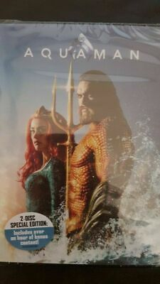 Aquaman DVD. New and sealed. Free delivery.bargain!!!