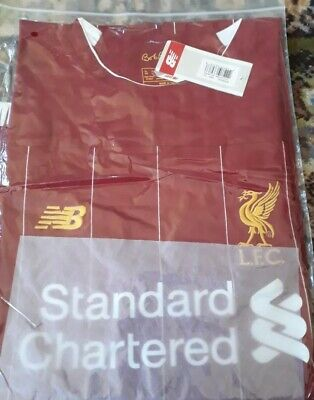 Liverpool Home Shirt 2018 Size Small Football Jersey.Slim Fit so order 1 size up