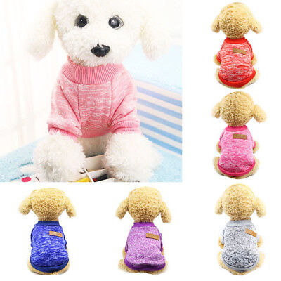 Puppy Soft Pet Dog Sweater Chihuahua Pullover Clothes Pet Outfit Jumper Novelty