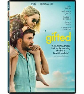 Gifted (DVD, 2017) Movie NEW FREE SHIPPING
