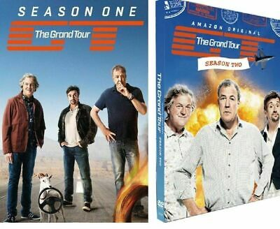The Grand Tour Season 1 & 2 & 3 DVD Box Set- Brand New & Sealed Pack