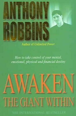 Awaken the Giant Within, Paperback by Robbins, Anthony, ISBN 0743409388, ISBN...