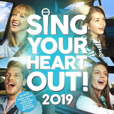 Various Artists : Sing Your Heart Out 2019 CD 2 discs (2019) Fast and FREE P & P