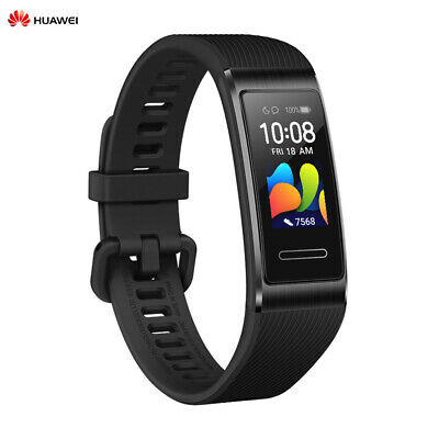 Huawei Band 3 Pro Wristband GPS NFC AMOLED COLOR Touchscreen HeartRate 5ATM N2S3