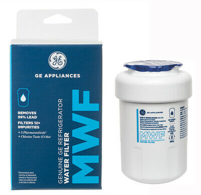 1 Pack GE OEM General Electric MWF Replacement Refrigerator Water Filter